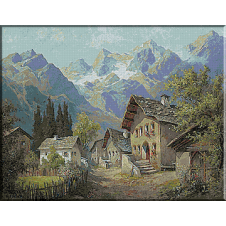 1866.Karl Flieher - Orasul vechi din Grins