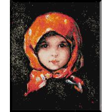 119.Grigorescu -Fata cu basma rosie