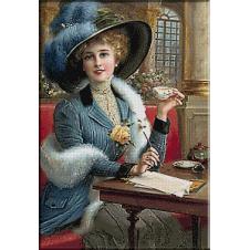 2431.Emile Vernon-A welcome tea